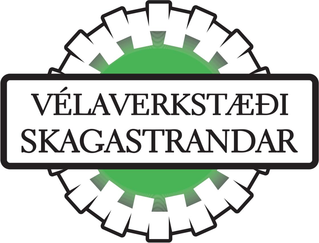 Vélaverkstæði Skagastrandar lógó